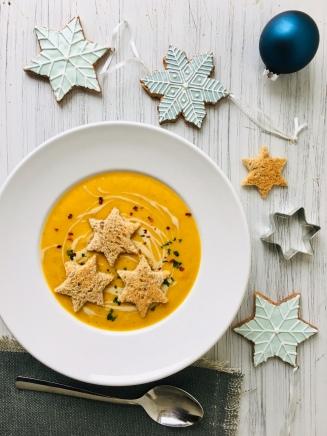 Möhren-Bratapfel-Suppe