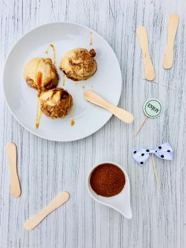 Erdnuss-Karamell-Eis