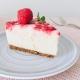 Weiße Schokolade-Himbeer-Cheesecake (no-bake)
